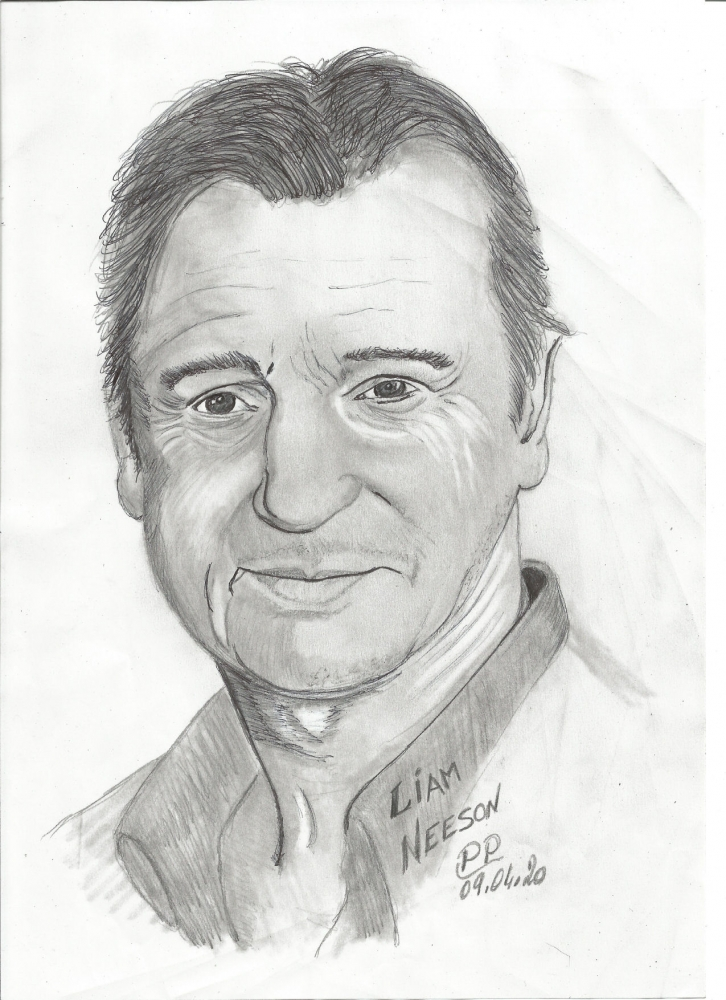 Liam Neeson by Patoux